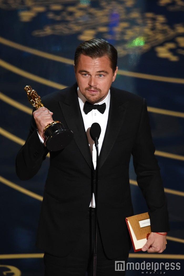 初の主演男優賞を受賞したレオナルド・ディカプリオ/photo:Getty Images