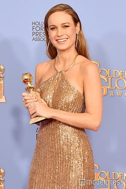 「ゴールデン・グローブ賞」女優賞受賞のブリー・ラーソン「信じられません」