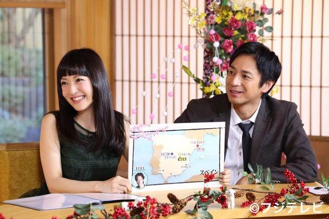 (左から)神田沙也加、チュートリアル徳井義実