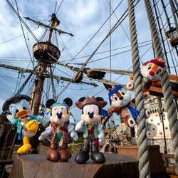 ぬいぐるみバッジ(各¥1,700/チップとデールはセットで2,800円)(C)Disney