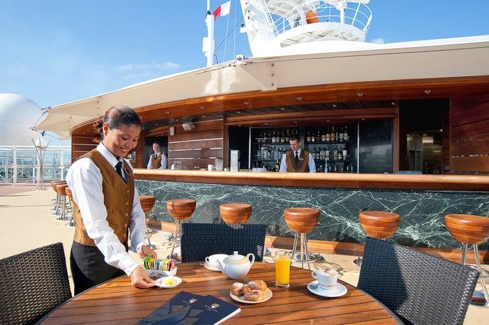 食事もすべてインクルードされているから安心/MSC Cruises S.A.