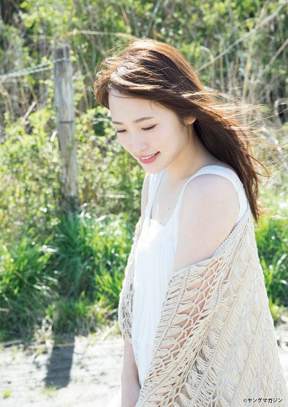川栄李奈(C)西田幸樹/ヤングマガジン