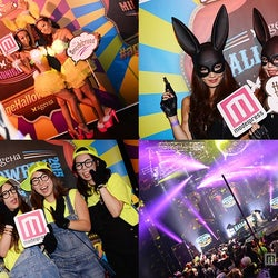 日本最大級ハロウィンイベントに仮装女子集結 No.1セルフィを決定