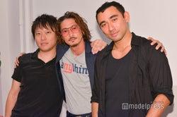 左から:和田直希社長、窪塚洋介、ニコラ・フォルミケッティ(C)モデルプレス