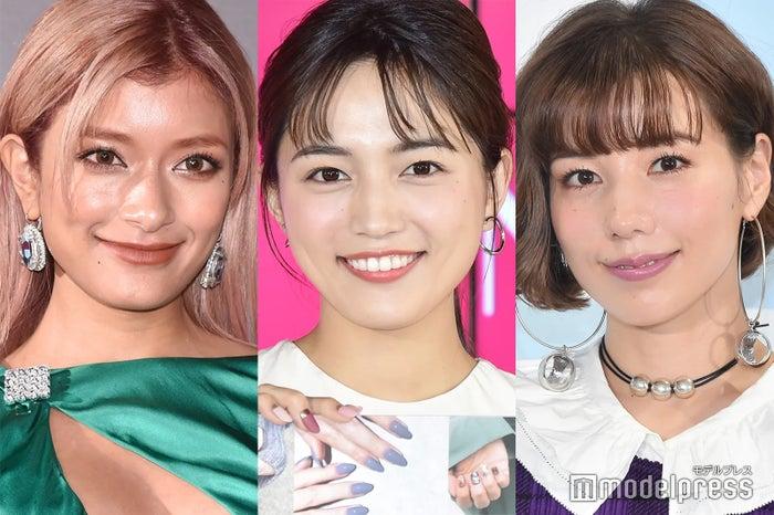 ローラ、川口春奈、仲里依紗 (C)モデルプレス