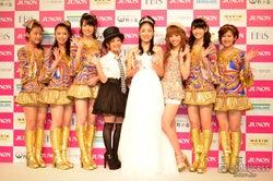 ℃-ute、圧巻のパフォーマンスに女子熱狂!ちょっぴり大人な浴衣姿もお披露目