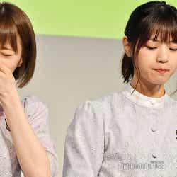 センブリ茶を飲んで…中田花奈「にがーい!」西野七瀬「ん…いける」 (C)モデルプレス