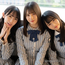 金村美玖、小坂菜緒、上村ひなの(C)モデルプレス