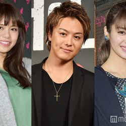 左から:佐藤晴美、TAKAHIRO、楓 (C)モデルプレス
