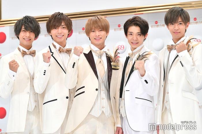 King & Prince(左から)高橋海人、永瀬廉、平野紫耀、岸優太、神宮寺勇太(C)モデルプレス