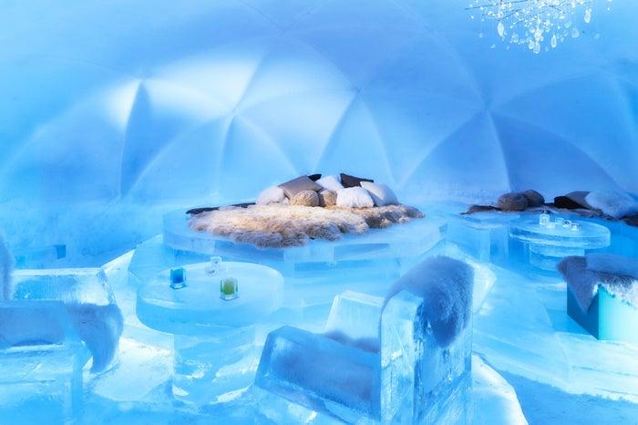 氷のホテル/画像提供:星野リゾート