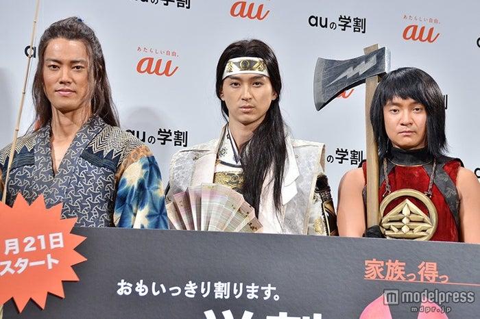 (左より)桐谷健太、松田翔太、濱田岳(C)モデルプレス