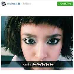 モデルプレス - ローラ、前髪パッツン&ショートヘアでイメージ一新 「別人みたい」「似合う」と反響