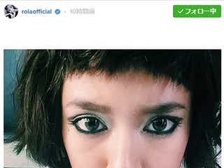 ローラ、前髪パッツン&ショートヘアでイメージ一新 「別人みたい」「似合う」と反響