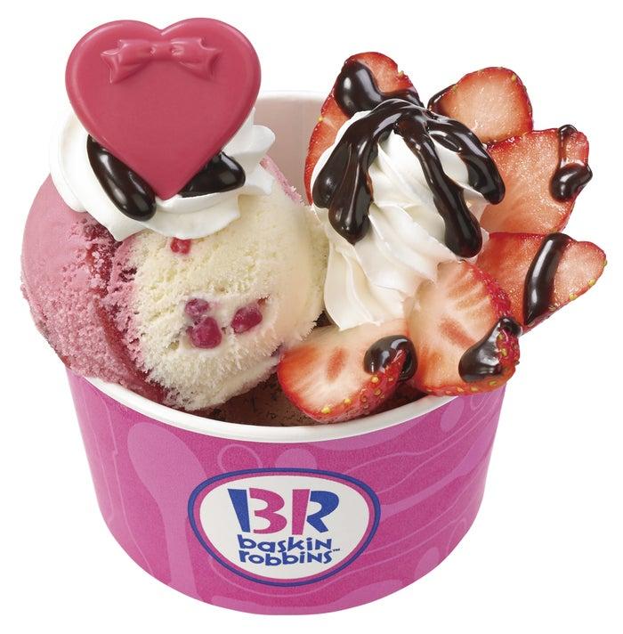 ストロベリーサンデー/画像提供:B-R サーティワン アイスクリーム