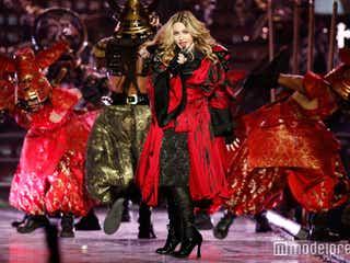 マドンナ10年ぶり来日公演「愛してる!」にファン熱狂 初日2時間おしで開幕