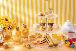 甘い蜂蜜たっぷりの夏色アフタヌーンティー、「ストリングスホテル東京」で開催