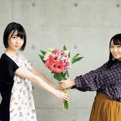AKB48多田京加&HKT48松田祐実、急遽撮影も息ぴったり