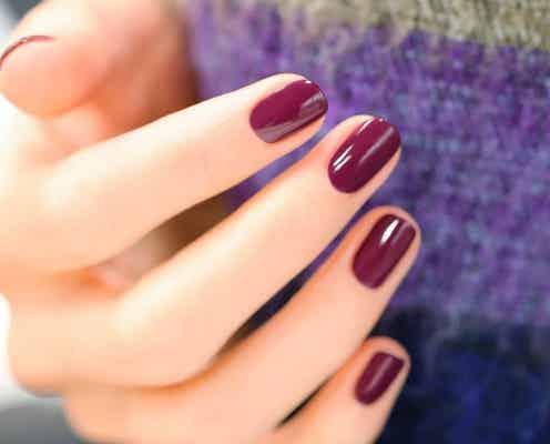 この秋は「グレープカラー」が大人可愛い♡爪に優しいヴィ―ガンネイル特集