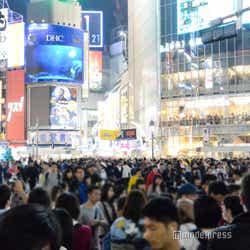 渋谷が大パニック!/2018年10月27日午後19時頃撮影 (C)モデルプレス