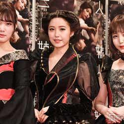 (左から)伊藤純奈、衛藤美彩、久保史緒里(C)モデルプレス
