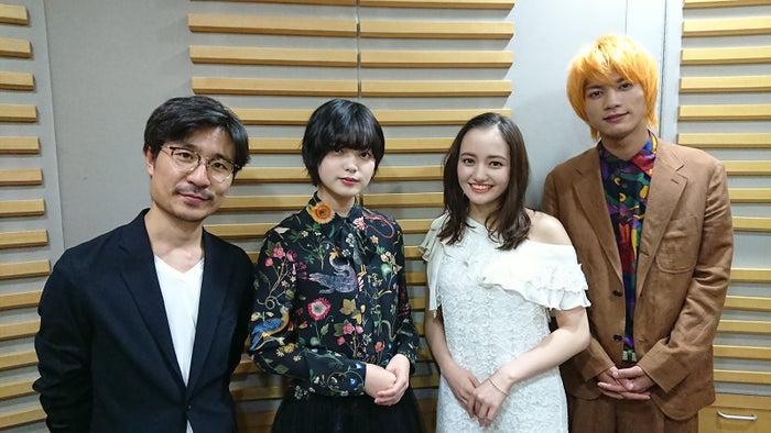 (左から)月川翔監督、平手友梨奈、アヤカ・ウィルソン、板垣瑞生(提供写真)
