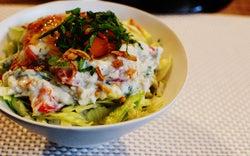 美人の素レシピ、食べてキレイを応援「ヘルシーしらす豆腐丼」