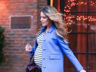 ブレイク・ライブリー、おしゃれな妊婦ファッション