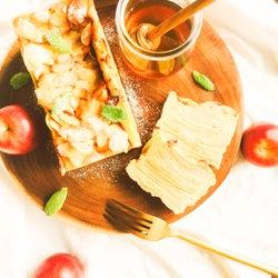 りんごを使ってヘルシーに!スイーツの新星「ガトーインビジブル」の簡単レシピ【柏原歩のトレンドレシピ】