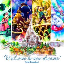 2020年4月15日にオープンする各施設のイメージ (C)Disney