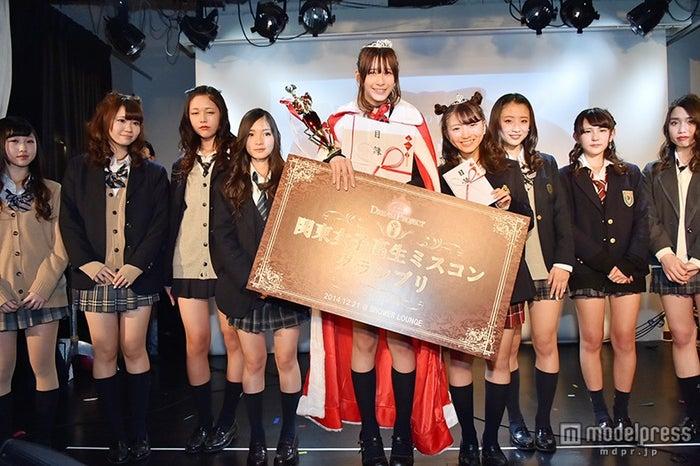 「関東女子高校生ミスコン2014」ファイナリスト/昨年末開催