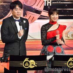 安住紳一郎TBSアナウンサー、土屋太鳳(C)モデルプレス