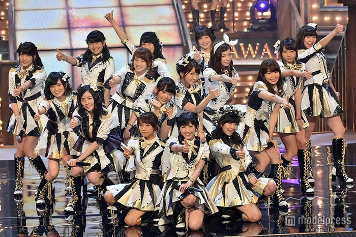 「第56回 輝く!日本レコード大賞」最終選考会で豪華メドレーを披露したAKB48【モデルプレス】