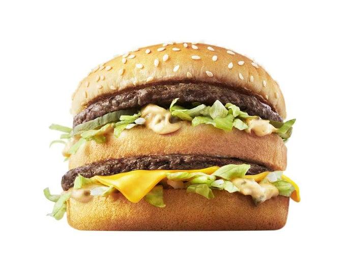 ビッグマック/画像提供:日本マクドナルド