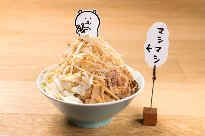ボリュームたっぷりマシマシラーメン ¥1,390(C)nagano/(C)GSJ