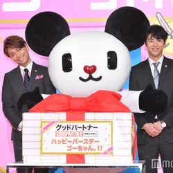 山崎育三郎&賀来賢人、子どもたちと一緒のイベントに「心が洗われた」(C)モデルプレス