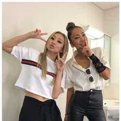 モデルプレス - 中島美嘉&倖田來未、歌姫の豪華2ショットにファン歓喜