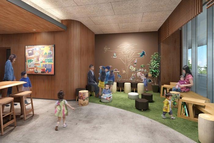 お子様が安心して遊べるキッズエリア/画像提供:スターバックス コーヒー ジャパン