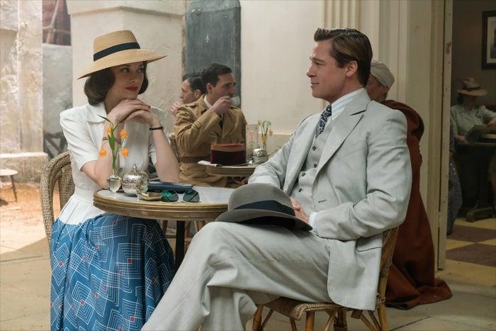 「マリアンヌ」(2月10日公開)(C)2016 Paramount Pictures. All Rights Reserved.