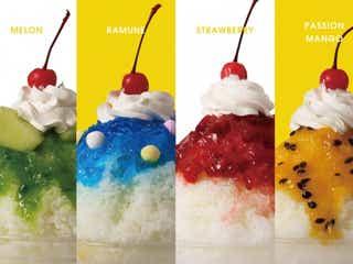 「サナギ新宿」にかき氷&チョコミントスイーツ、夏の期間限定で