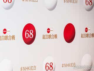 関ジャニ∞、NHKホールをかけめぐる Hey! Say! JUMPらと賑やかパフォーマンス<紅白リハ2日目>