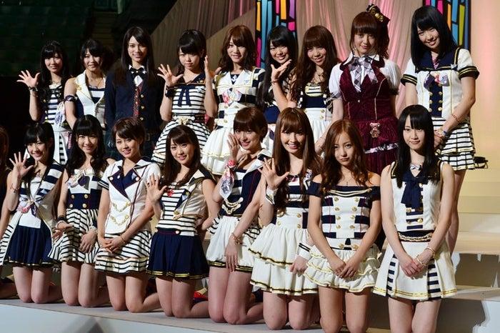 AKB48(「22ndシングル 選抜総選挙」より)
