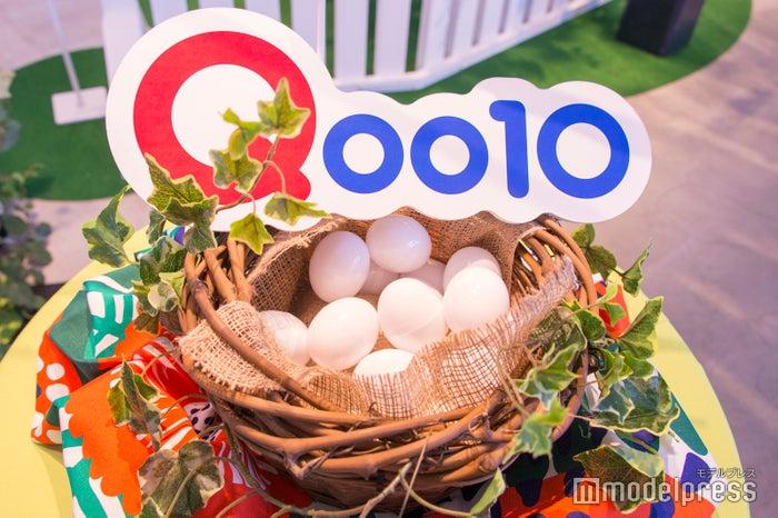 会場内にはイースターにちなんで卵がたくさん(C)モデルプレス