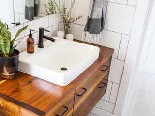 【実例】洗面所をおしゃれに♡すぐ真似できる簡単収納アイデア