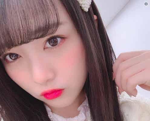 AKB48向井地美音、ロングヘア復活でファン歓喜「天使降臨」「大人っぽさ増した」HKT48田中美久も絶賛