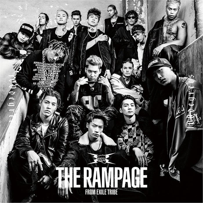 THE RAMPAGE from EXILE TRIBE『100degrees』(11月8日発売)CD+DVD版ジャケット写真(提供写真)