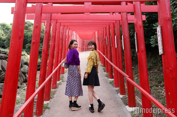 鳥居だけでもSNS映えばっちりな「元乃隅稲成神社」(C)モデルプレス