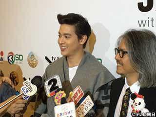 タイの大スター・ジラユ、旅番組でMCに初挑戦「東北の魅力を感じてください」
