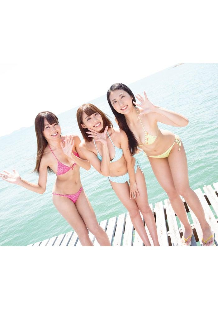 (左から)沙倉しずか、山岸奈津美、阿南萌花(C)光文社/写真:岩松喜平