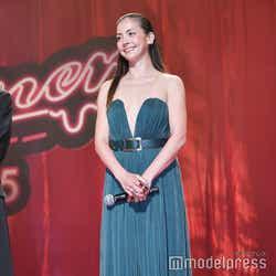 映画「Diner ダイナー」のジャパンプレミアに登壇した土屋アンナ(C)モデルプレス